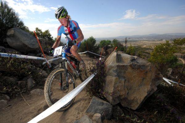 Mistrovství světa MTB XC 2009, Canberra - junioři: Jan Nesvadba si vedl ze začátku velmi dobře