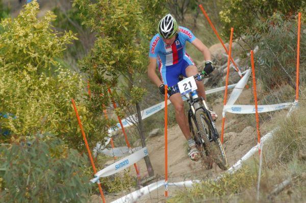 Mistrovství světa MTB XC 2009, Canberra - junioři: Jan Nesvadba