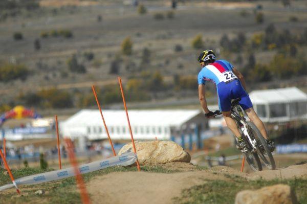 Mistrovství světa MTB XC 2009, Canberra - junioři: Tomáš Paprstka