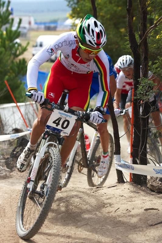 Mistrovství světa MTB XC 2009, Canberra /AUS/ - Portugalec Marinheiro byl aktivní ze začátku závodu