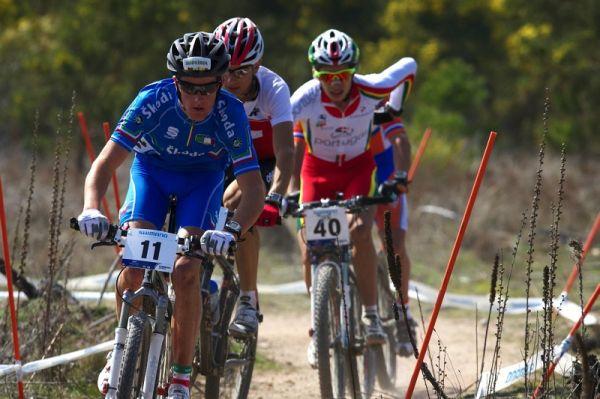 Mistrovství světa MTB XC 2009, Canberra /AUS/ - Kerschbaumer si kontrolu čelo závodu
