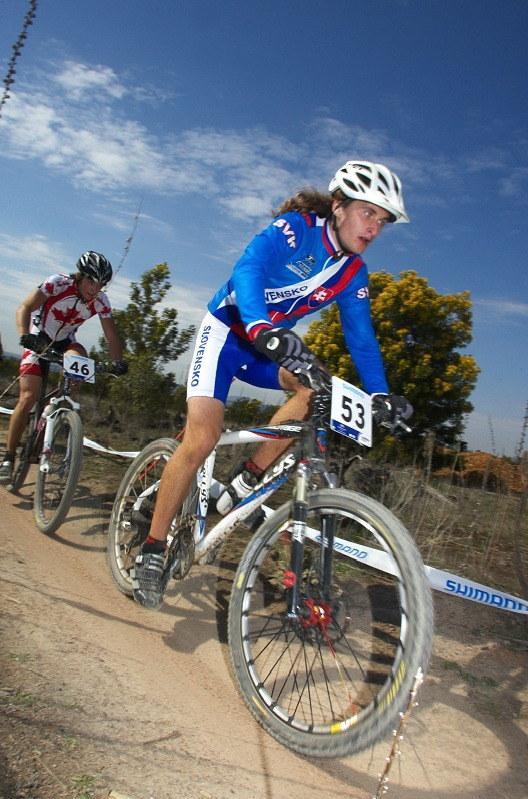 Mistrovství světa MTB XC 2009, Canberra /AUS/ - slovenský reprezentant Daniel Hula