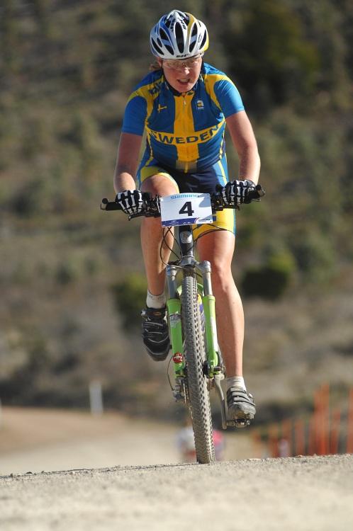 Mistrovství světa MTB XC 2009 - ženy U23: Alexandra Engen