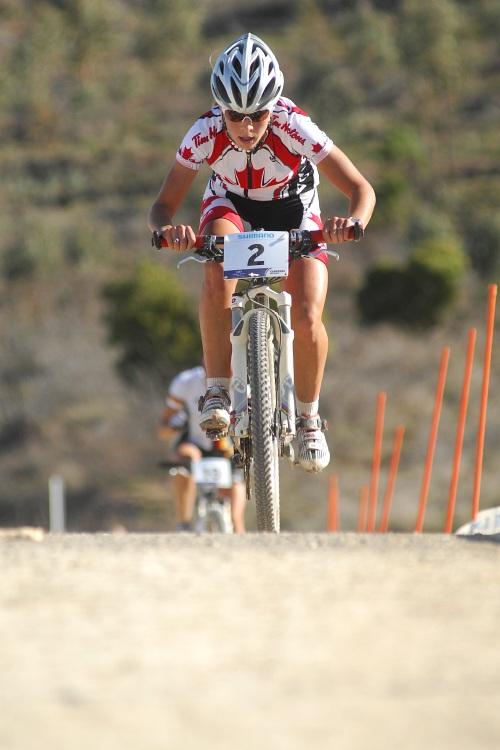 Mistrovství světa MTB XC 2009 - ženy U23: Emily Batty