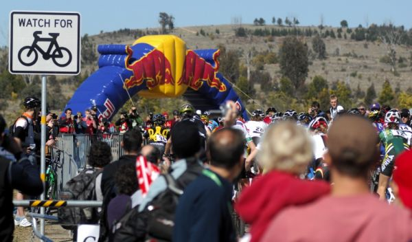Mistrovství světa MTB 2009, Canberra - juniorky: start