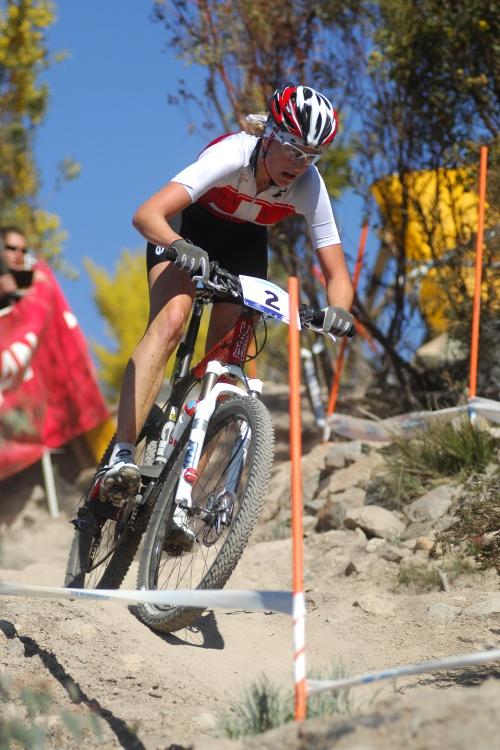 Mistrovství světa MTB 2009, Canberra - juniorky: Michelle Hediger