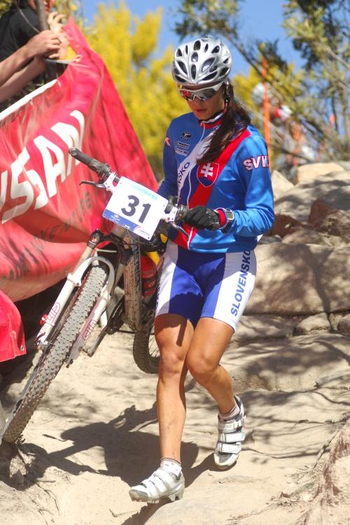 Mistrovství světa MTB 2009, Canberra - juniorky: Natália Šimorová