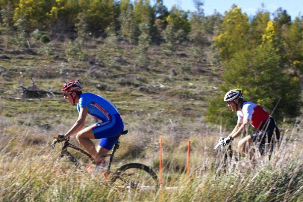 Mistrovství světa MTB XC 2009, Canberra /AUS/ - Jára Kulhavý a Florian Vogel