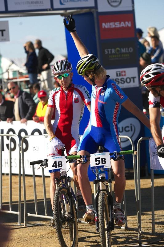 Mistrovství světa MTB XC 2009, Canberra /AUS/ - Jan Nesvadba se hlásí o slovo...