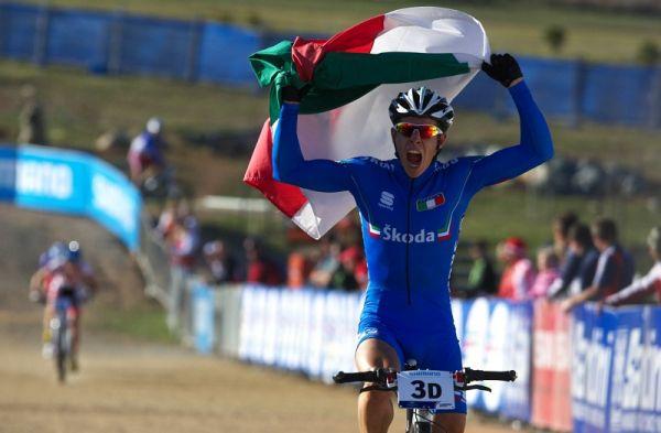Mistrovství světa MTB XC 2009, Canberra /AUS/ - Cristian Cominelli přiváží první zlato