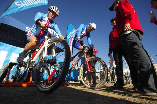 Mistrovství světa MTB XC 2009, Canberra /AUS/ - Pavla Havlíková a Jaroslav Kulhavý