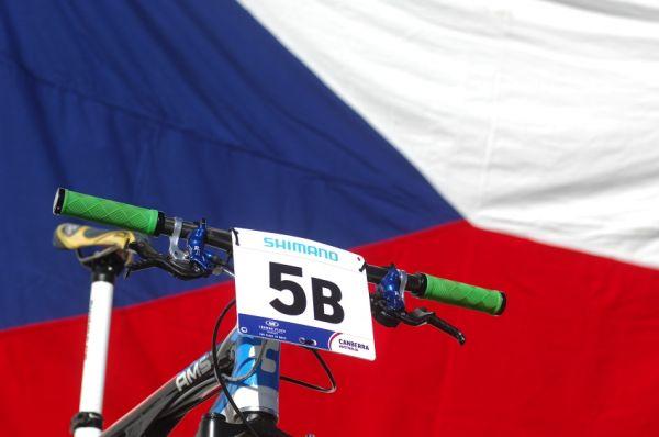 Mistrovství světa MTB XC 2009, Canberra /AUS/ - Kolo Jana Nesvadby připraveno ke startu