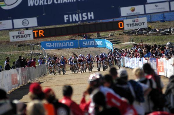 Mistrovství světa MTB XC 2009, Canberra /AUS/ - start
