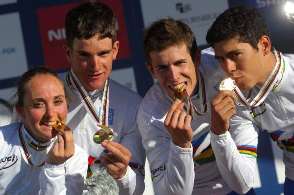 Mistrovství světa MTB XC 2009, Canberra /AUS/ - zlatí Italové