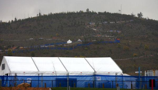 Mistrovství světa MTB 2009, Canberra 1. den - zázemí pro novináře