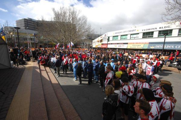 Mistrovstv� sv�ta MTB 2009, Canberra 1. den - slavnostn� zah�jen�