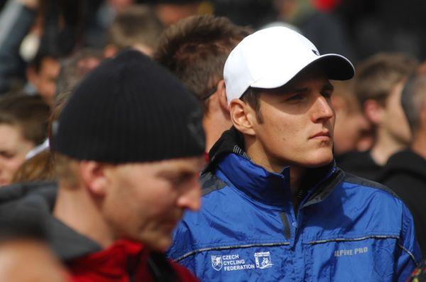 Mistrovství světa MTB 2009, Canberra 1. den - Jaroslav Kulhavý na slavnostním zahájení