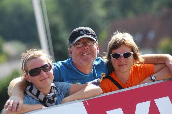 Mistrovství světa v MTB maratonu 2009 - Graz /AUT/: čeští fanoušci z Paklisportu