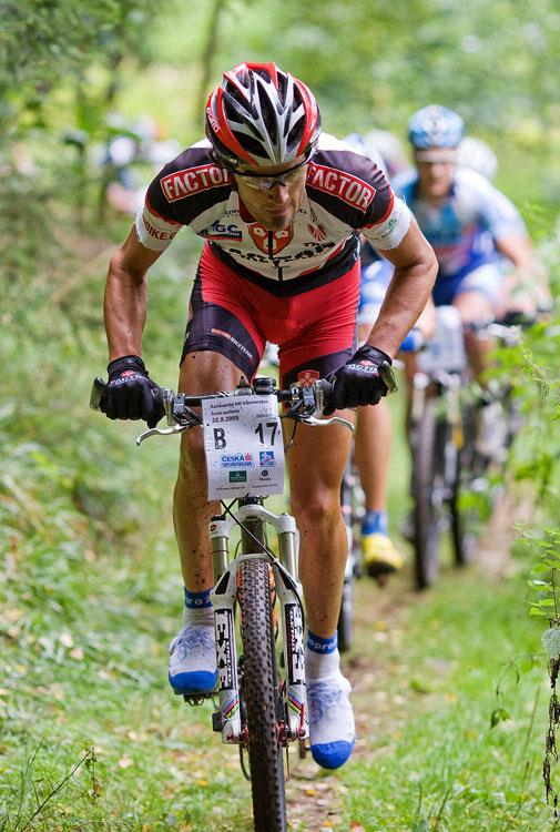 KPŽ AM bikemaraton ČS Karlovy Vary 2009 - Robert Novotný začal úřadovat...
