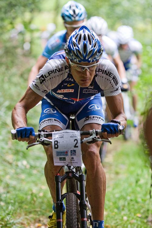 KPŽ AM bikemaraton ČS Karlovy Vary 2009 - Václav Ježek