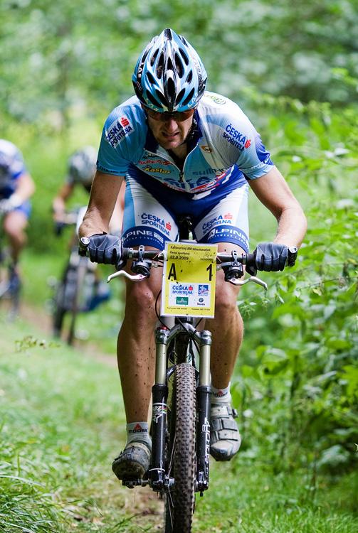 KPŽ AM bikemaraton ČS Karlovy Vary 2009 - Tomáš Trunschka
