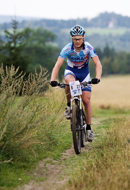 KPŽ AM bikemaraton ČS Karlovy Vary 2009 - Pepa Kamler