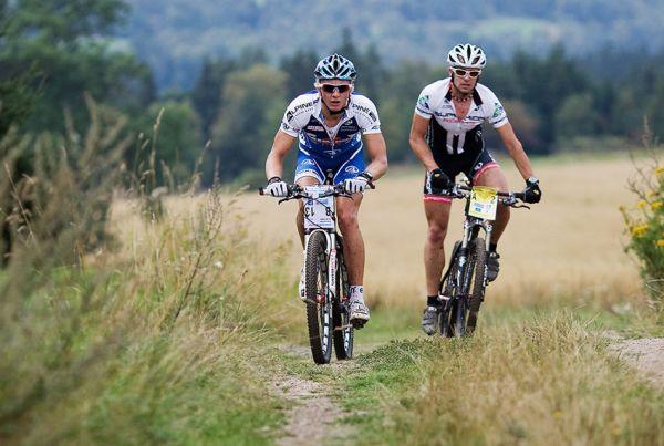 KPŽ AM bikemaraton ČS Karlovy Vary 2009 - Jakub Šilar a Martin Haman