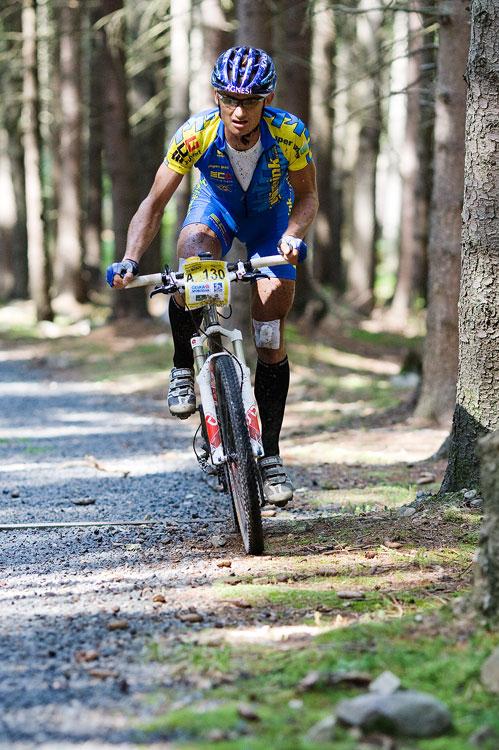 KPŽ AM bikemaraton ČS Karlovy Vary 2009 - Jan Hruška v prvním kole