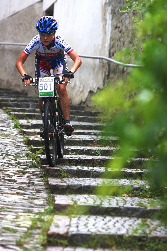 Český pohár XCO #5 - Kutná Hora 22.8. 2009 - Markéta Drahovzalová