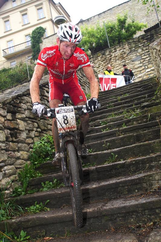 Český pohár XCO #5 - Kutná Hora 22.8. 2009 - Ondřej Bambula měl dobrý den, skončil 10. a celkově vyhrál U23