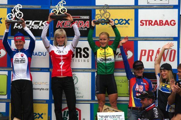 Český pohár XCO #5 - Kutná Hora 22.8. 2009 - ženy
