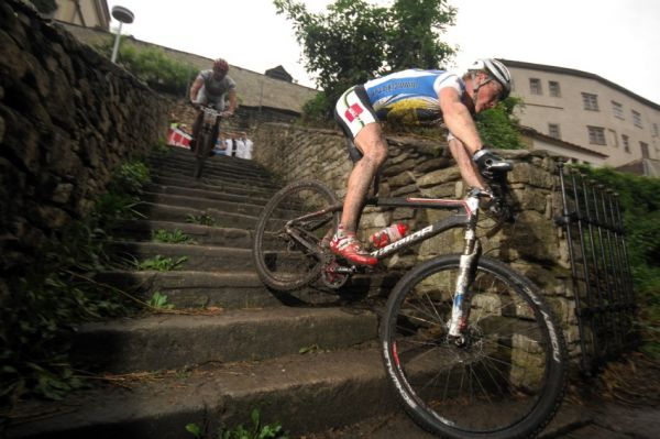 �P MTB XC 2009 - fin�le Kutn� Hora: Ji�� Friedl a Pavel Boudn�
