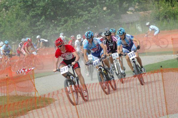 Fin�le Jiho�esk�ho poh�ru MTB 09 v Novosedlech - start mu��