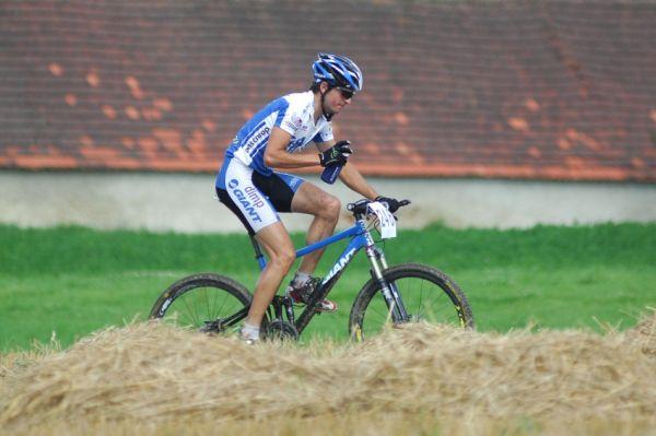 Finále Jihočeského poháru MTB 09 v Novosedlech - Jan Škarnitzl na třetím místě