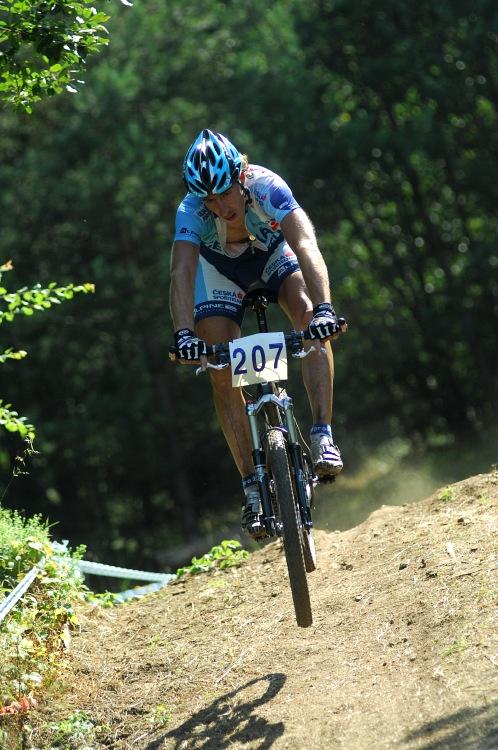 Fin�le Jiho�esk�ho poh�ru MTB 09 v Novosedlech - Milan Sp�n�