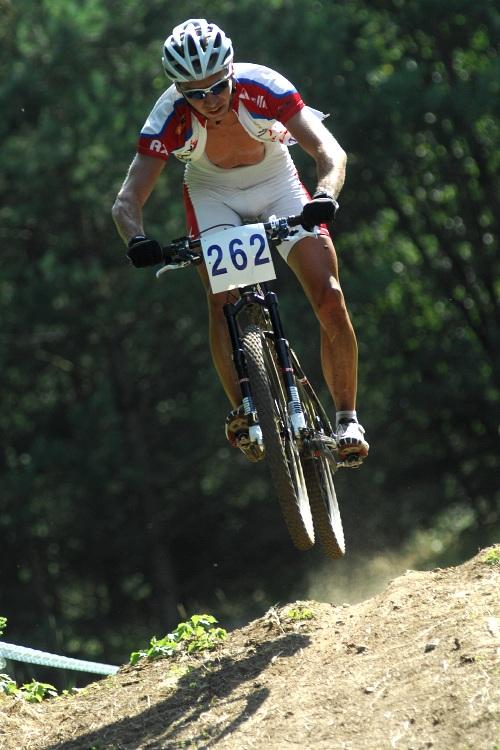 Finále Jihočeského poháru MTB 09 v Novosedlech - Tomáš Doležal