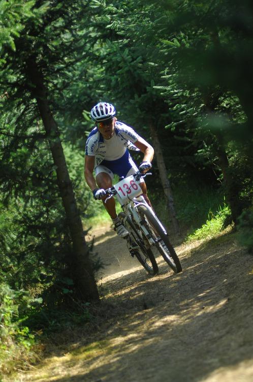 Finále Jihočeského poháru MTB 09 v Novosedlech - vítěz kategorie Hobby David Kníže