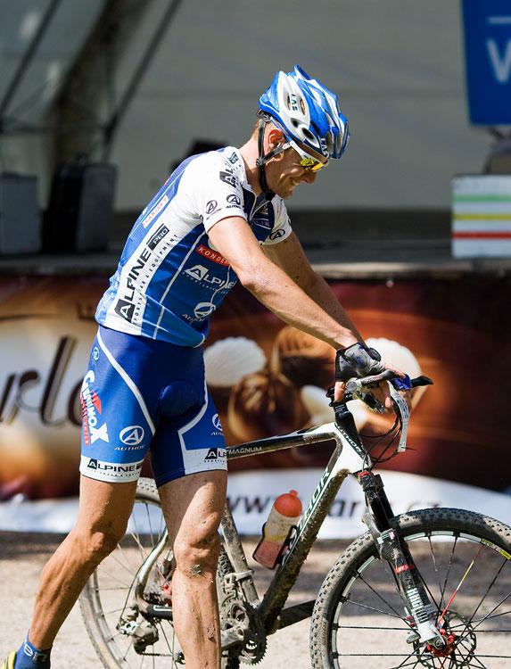 Podkrkonošský maraton 2009 - radost Vency Ježka
