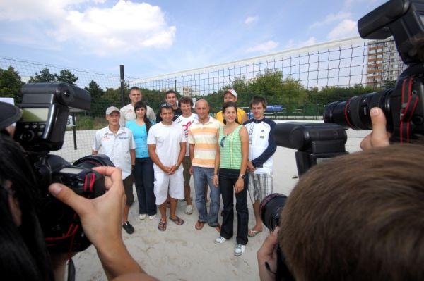 Sport Invest setkání sportovců 18.8.2009
