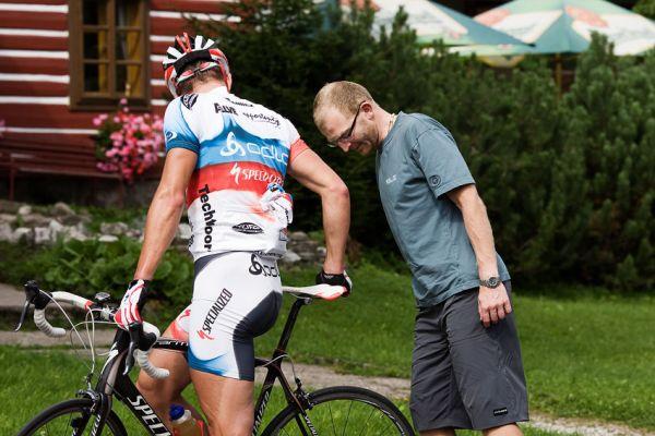 MTB reprezenta�n� soust�ed�n� Trutnov 09 - Pavel Boudn� a Jan Slav��ek