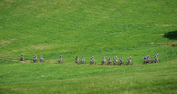 KPŽ Ještěd Tour 2009 - první stoupání na Rašovku