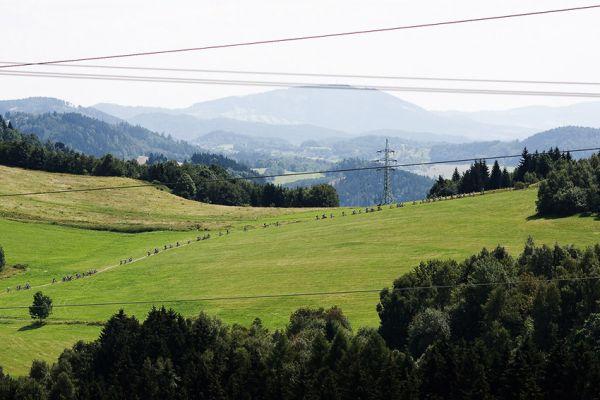 KPŽ Ještěd Tour 2009 - pohled z Rašovky