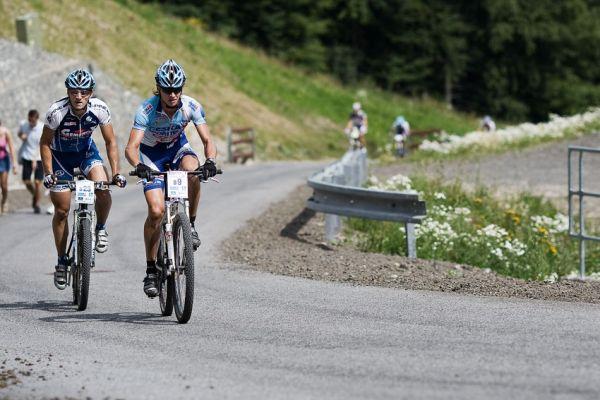 KPŽ Ještěd Tour 2009 - Pavel Zerzan a Vít Galandák
