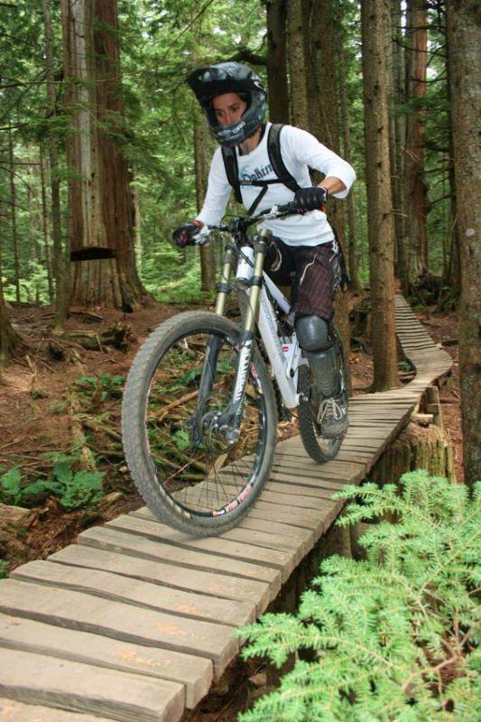 MRSN Crankworks Trip 2009, Vancouver - North Shore, Kanada.
