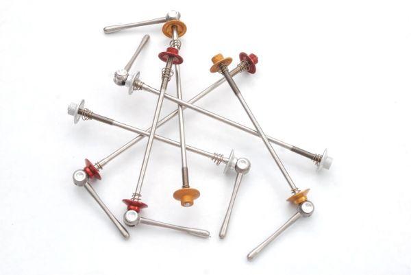 Luxusí komponenty Carbon-Ti: Rychloupínáky X-Lock Special MTB