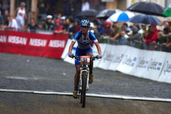 Nissan UCI MTB World Cup XCO #6 - Bromont /KAN/ 2.8. 2009 - Katka dojíždí v první desítce