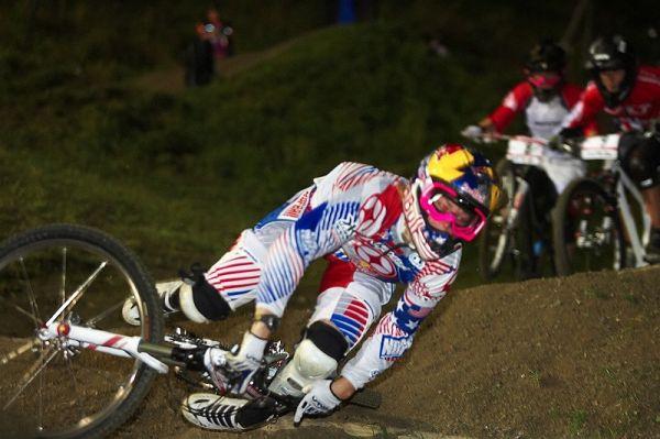 Nissan UCI MTB 4X #8, Schladming 19.9. 2009 - Jill letos zažívala podobnou sezónu jako Michal Prokop.... hodně pádů