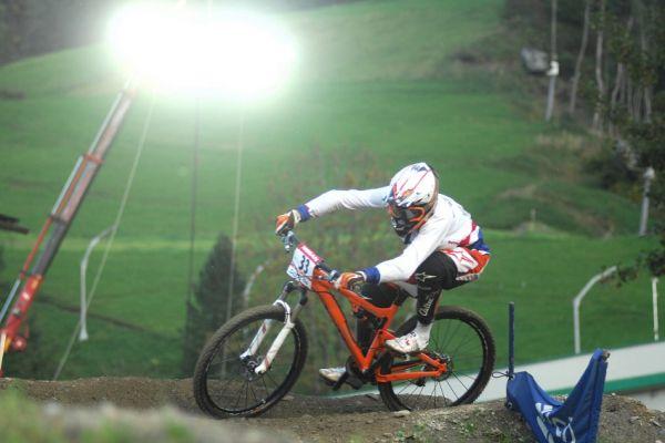 Světový pohár 4X, Schladming 2009: Anneke Beerten v kvalifikaci
