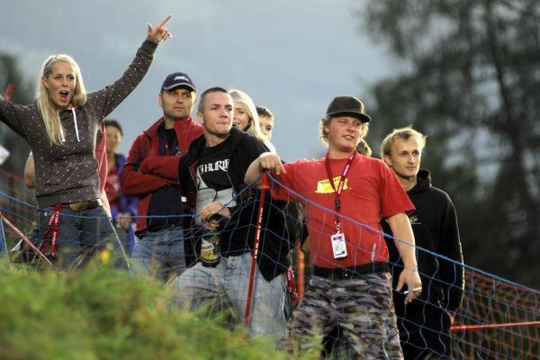 Světový pohár 4X, Schladming 2009: čeští fanoušci
