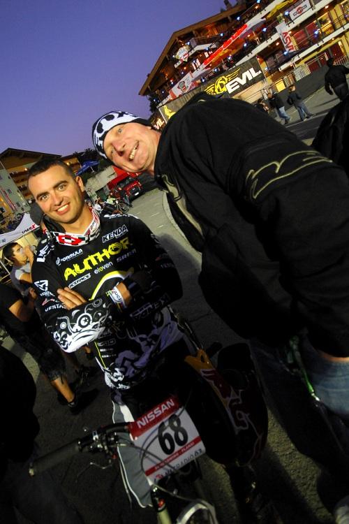 Světový pohár 4X, Schladming 2009: Michal Prokop a Dlouhán